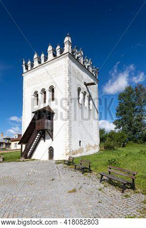 bell tower in Strazky near Spiska Bela, Slovakia
