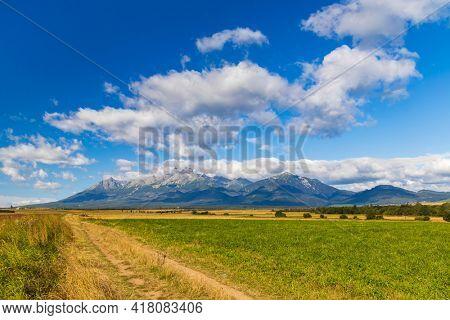 High Tatras in summer time, Slovakia