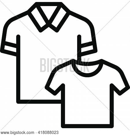 Shirt Icon, Supermarket And Shopping Mall Related Vector Illustration