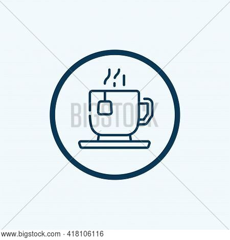 Tea Icon Isolated On White Background From England Collection. Tea Icon Thin Line Outline Linear Tea