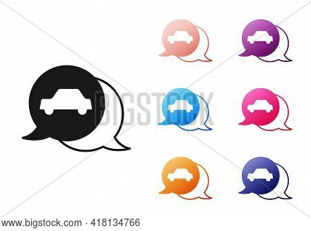 Black Car Service Icon Isolated On White Background. Auto Mechanic Service. Repair Service Auto Mech