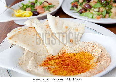 Selection of Mediterranean Appetizers