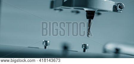 cutters on CNC machine cutters on CNC machine