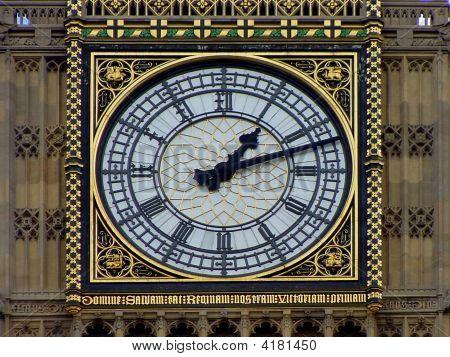 Big Ben Clock In London, Uk