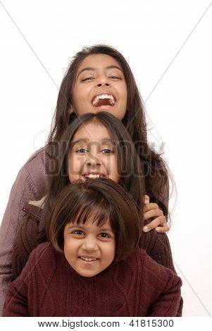 Three loving sisters