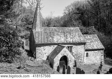 Culbone Church.the Smallest Parish Church In England