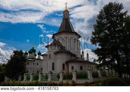 Church Of St. Nicholas The Wonderworker In The Istra District Of The Moscow Region, Russia.