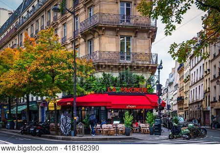 Paris, France, Fev 2020, View Of