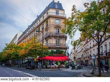 Paris, France, Fev 2020, View Of \