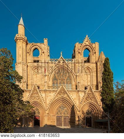 St. Nicholas Cathedral (Lala Mustafa Mosque), Famagusta, Nothern Cyprus