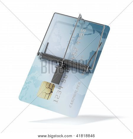 Credit card as mousetrap