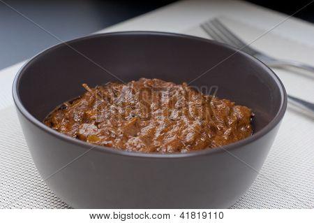 Fresh Hot Spicy Beef Rendang