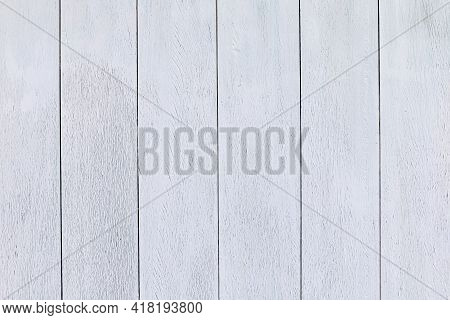 Planked, White Plank Wood For Vintage Background, White Painted Wood Board Panels, Wooden Wall White
