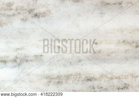 White Marble Pattern And Texture With Brown And Gray Lines And Spots