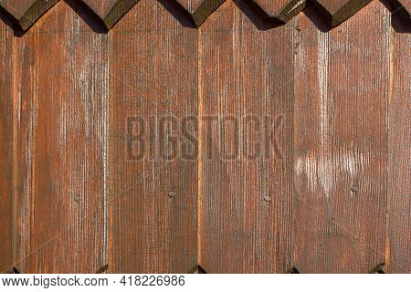 Background From Boards A Fragment Of The Wall Of A Wooden House