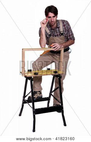 Cabinet maker