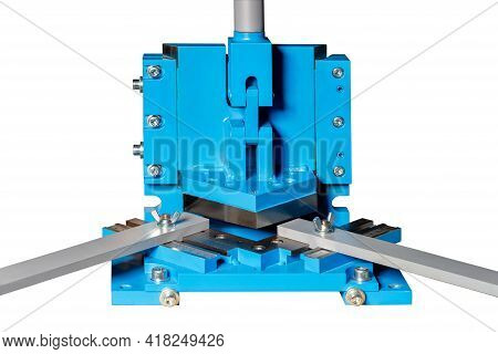 The Cutting Press Is Used For High-quality Processing Of Metal Sheet With Perfectly Smooth Edges Wit