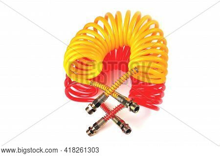 Pneumatic Hose Of A Truck For Supplying Compressed Air From A Tractor To A Trailer, Car Accessories,