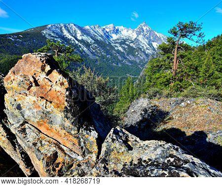 Trapper Peak, Highest Peak In The Bitterroot Mountains Of Montana.