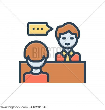 Color Illustration For Advice Counsel Rede Preaching Sermon Instruction Edification
