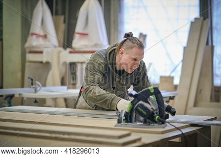 Woodwork And Furniture Making. Joinery, Woodworking And Furniture Making, Professional Carpenter Cut