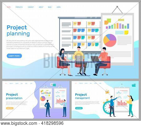 Project Planning With Team. Partnership Management. Project Presentation For Business Partners. Effe