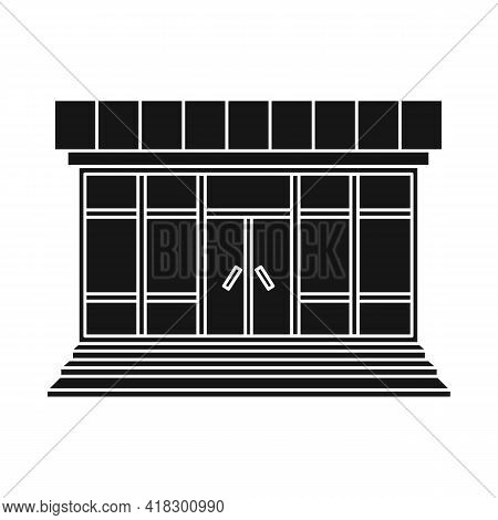 Vector Design Of Store And Market Icon. Set Of Store And Mini Stock Symbol For Web.