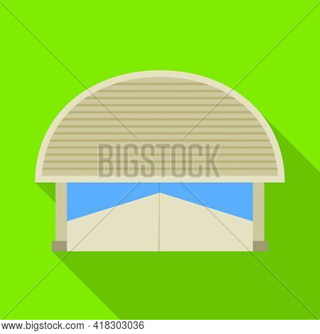 Vector Illustration Of Warehouse And Awning Icon. Web Element Of Warehouse And Storage Vector Icon F
