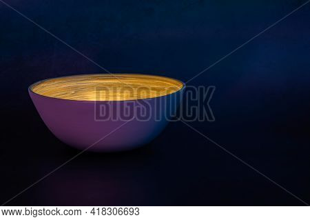 Single Bamboo Bowl Of Light