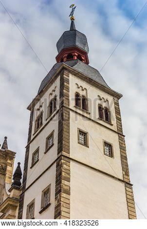 Tower Of The Namen-jesu-kirche Church In Bonn, Germany