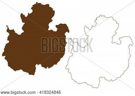 Fulda District (federal Republic Of Germany, Rural District Kassel Region, State Of Hessen, Hesse, H