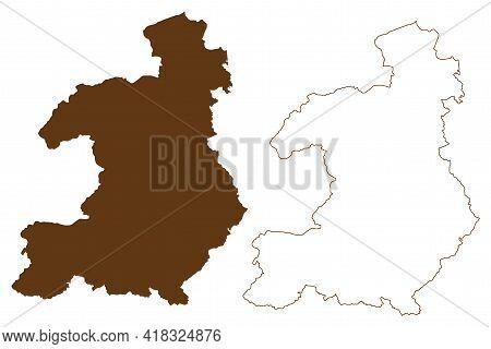 Waldeck-frankenberg District (federal Republic Of Germany, Rural District Kassel Region, State Of He