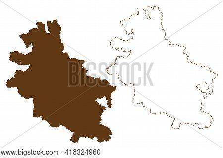 Werra-meissner District (federal Republic Of Germany, Rural District Kassel Region, State Of Hessen,