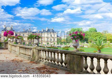 Luxembourg Garden (Jardin du Luxembourg), Paris