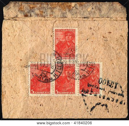 Envelope In Time Of World War Ii