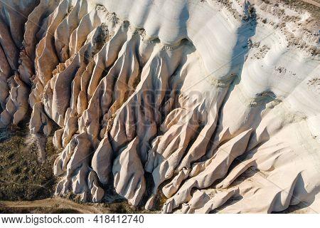 Cappadocia Landscape In Cappadocia Travel, Aerial View