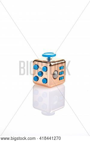 Abs Fidget Cube Stress Relief Focus Toy Can Help People Quit Smoking, Decrease Stress, Remove Compul