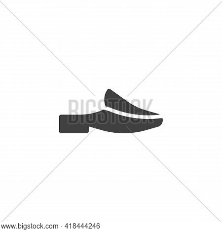 Mules Shoes Vector Icon. Filled Flat Sign For Mobile Concept And Web Design. Womens Mules Glyph Icon