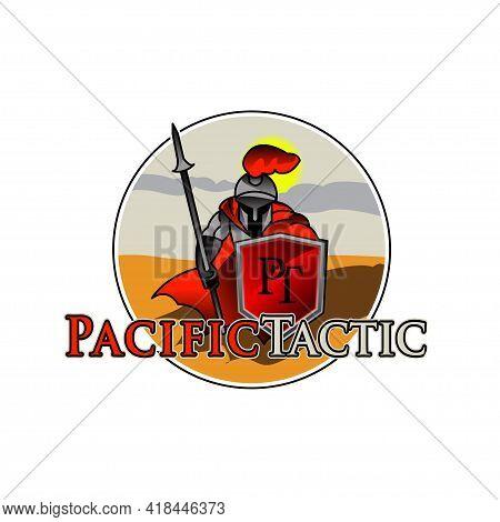 Illustration Vector Graphic Of Warrior Logo