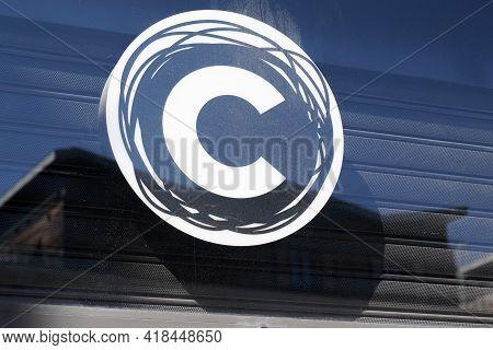 Bordeaux , Aquitaine France - 04 22 2021 : Citadium Logo Sign And Brand Text Clothing Fashion Store