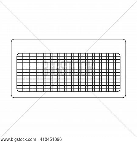 Insect Trap Vector Icon.outline Vector Icon Isolated On White Background Insect Trap.