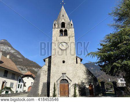 Eglise Du Cloître Or Protestant Cloister Church Aigle (reformed Church In Aigle) - Canton Of Vaud, S