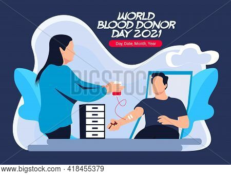 World Blood Donor Day I Give Blood Save Life