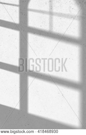 Background with curved window shadow