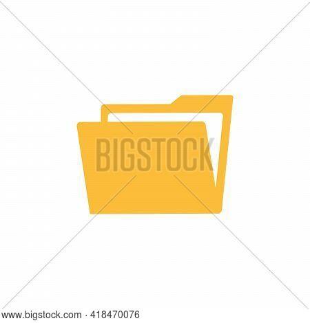 New Folder File. Add Attach Create Folder Make New Plus. Vector Icon Illustration