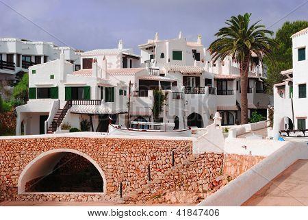 Mediterranean town Binibeca
