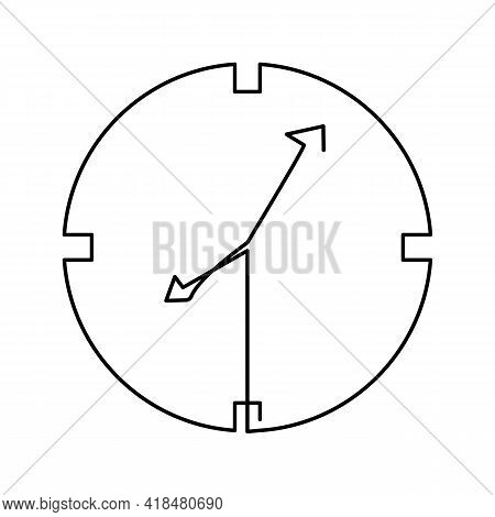 Iftar Time. Ramadan Karim. Arabic Culture. Continuous Line Icons. Islamic People, Philosophy And Tra