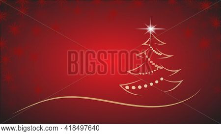 A Magic Music Musical Notes Christmas Tree Background Illustration Of A Holiday Christmas Tree Made