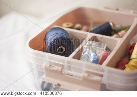 Sewing Box Organizer. Sewing And Sewing Supplies