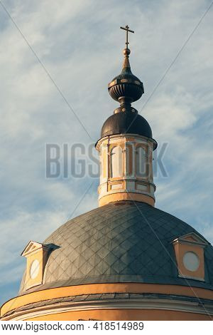 Dome And Cross Of The Church Of The Ascension Of The Lord In The Blacksmith Sloboda - Church In Kolo